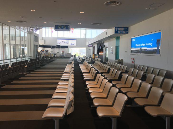 神戸空港搭乗フロア