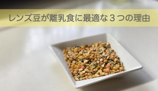 レンズ豆が離乳食に最適な3つの理由